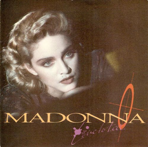 MADONNA Live To Tell Vinyl Record 7 Inch Sire 1986.